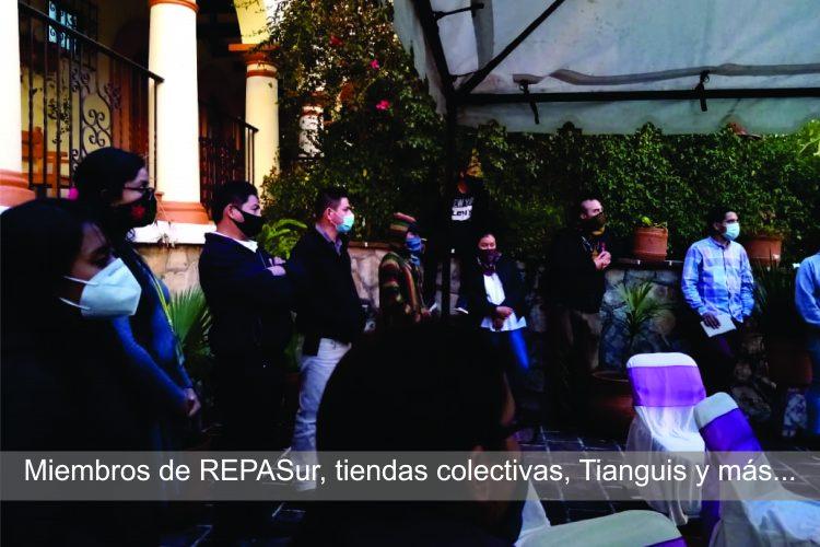 Miembros de REPASur, tianguis y más