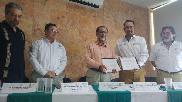 ECOSUR y la CONANP-Región Península de Yucatán y Caribe Mexicano firman convenio de colaboración
