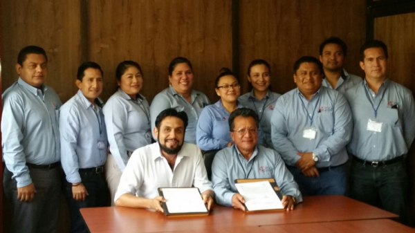 ECOSUR y ITSCE firma convenio de colaboración en proyecto sobre pesca y petróleo